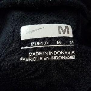 Nike black 6-panel workout tee, sz M